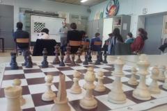 La salle de jeu et d'étude du Mercredi après midi